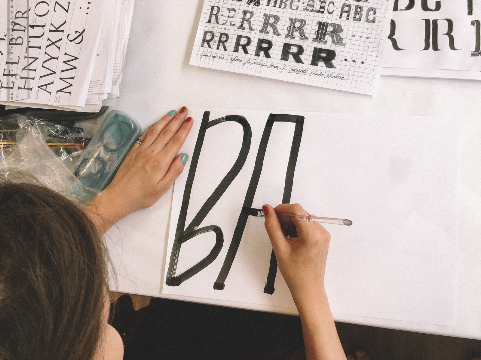Week 01 Summary – From Writing Calligraphy to Drawing Type