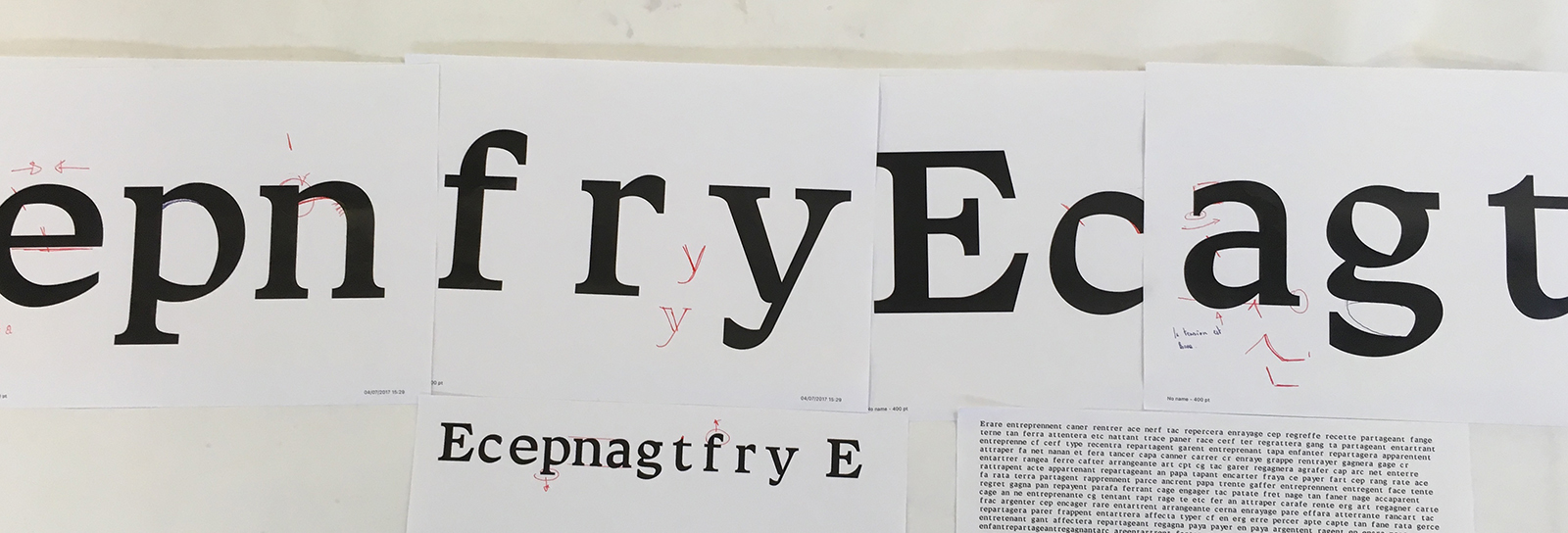 Week #3 Digitising letterforms and exploring new design spaces